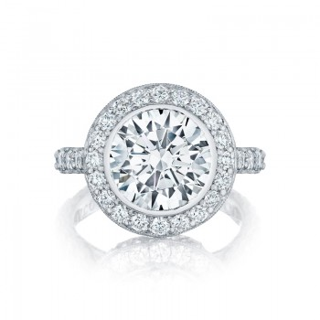 Tacori RoyalT Collection Engagement Ring HT2614RD10