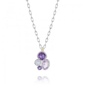 Tacori Lilac Blossoms Simply Gem Cluster Pendant