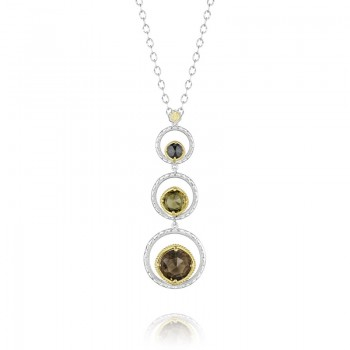 Tacori Midnight Sun Triple Crescent Bloom Necklace