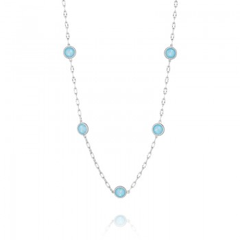 Raindrops Necklace featuring Neo-Turquoise