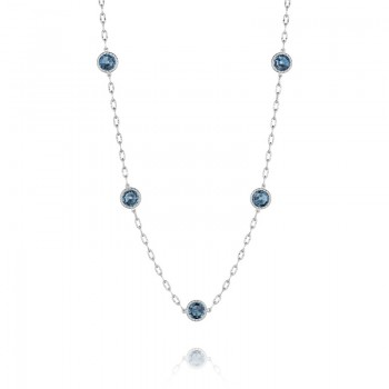 Raindrops Necklace featuring London Blue Topaz