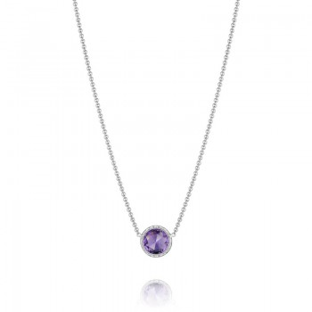 Tacori Lilac Blossoms Floating Bezel Necklace