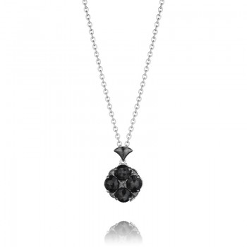 Tacori City Lights After Dark Lotus Four Gem Pendant
