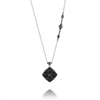 Tacori City Lights After Dark Embellished Chain Pendant Necklace