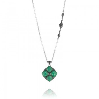 Tacori City Lights Embellished Chain Gem Pendant Necklace