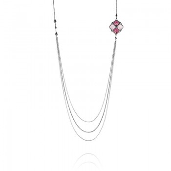 Tacori City Lights Delicate Layers Multi-Strand Necklace