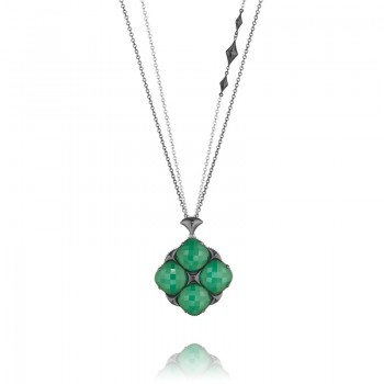 Tacori City Lights Bold Embellished Chain Pendant Necklace