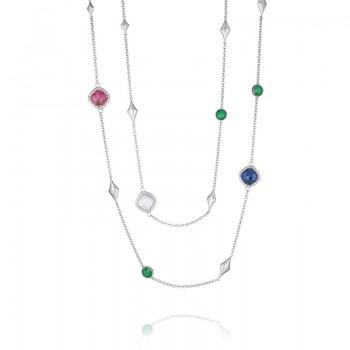 Tacori City Lights Gem Charm Necklace