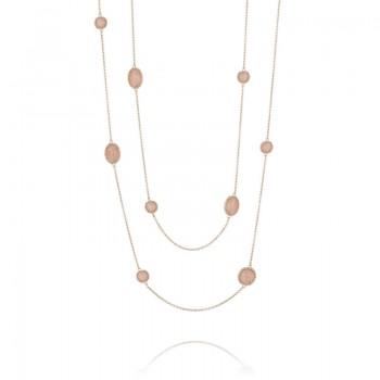Tacori Moon Rosé Gem Wrap Necklace
