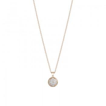 Dew Drop Pendant featuring Pavé Diamonds SN196P