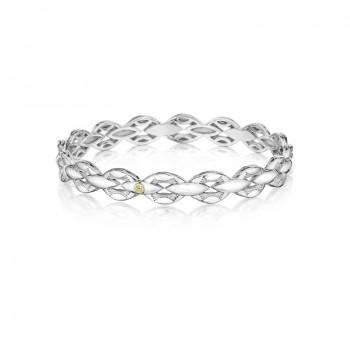 Bold Silver Links Bracelet SB189M