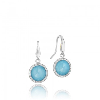 Simply Gem Drop Earrings featuring Neo-Turquoise