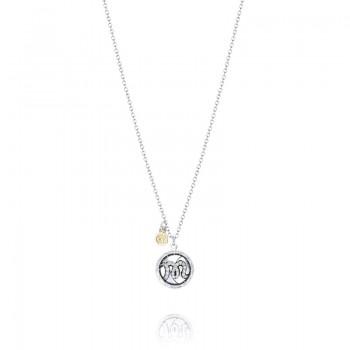 Tacori Love Letters Pavé Monogram Charm Pendant