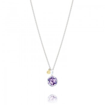 Gemstone Pendant featuring Amethyst