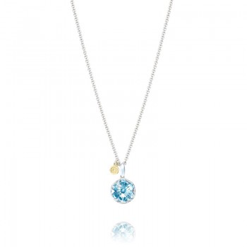 Gemstone Pendant featuring Sky Blue Topaz