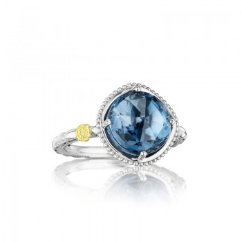 Tacori Island Rains Bold Simply Gem Solitaire Ring