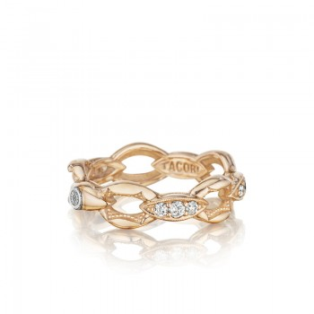 Tacori The Ivy Lane Pink Links Pave Ring