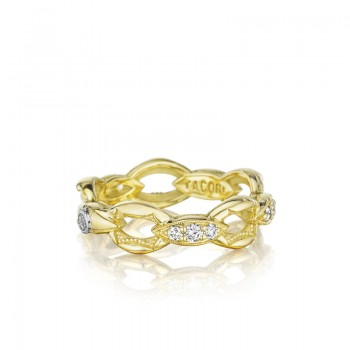 Tacori The Ivy Lane Gold Links Pave Ring